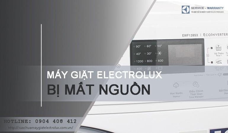 2 cách sửa lỗi máy giặt Electrolux bị mất nguồn HIỆU QUẢ 99%
