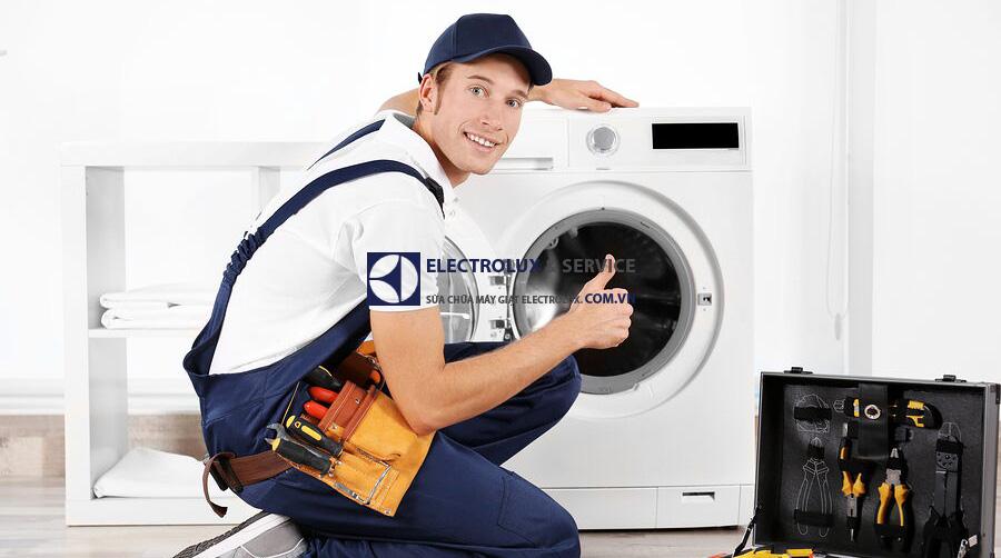 Tư vấn sửa lỗi không mở được cửa ở máy giặt Electrolux