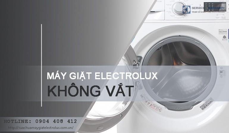Máy giặt Electrolux không vắt