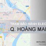 Bảo hành máy giặt Electrolux tại Hoàng Mai | Làm việc 24/7