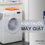 Những kích thước máy giặt phổ biến nhất CHO MỌI THỜI ĐẠI
