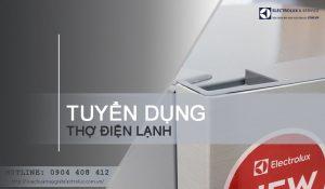 Tuyển thợ điện lạnh làm việc tại Hà Nội