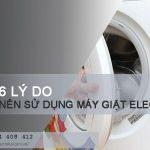 6 lý do bạn nên chọn mua máy giặt Electrolux mỗi ngày