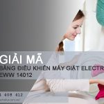 Giải mã bảng điều khiển máy giặt Electrolux EWW14012 với 15 lệnh