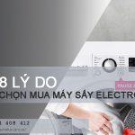 8 lý do nên chọn mua máy sấy quần áo Electrolux bạn cần biết