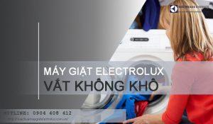 5 nguyên nhân máy giặt Electrolux vắt không khô và CÁCH SỬA