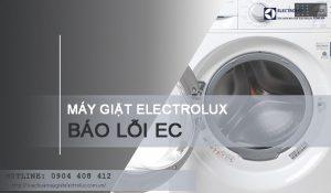 Máy giặt Electrolux báo lỗi EC và mẹo sửa triệt để cho anh em