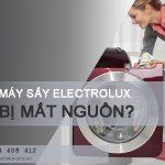 Mách bạn cách sửa máy sấy Electrolux bị mất nguồn từ A – Z