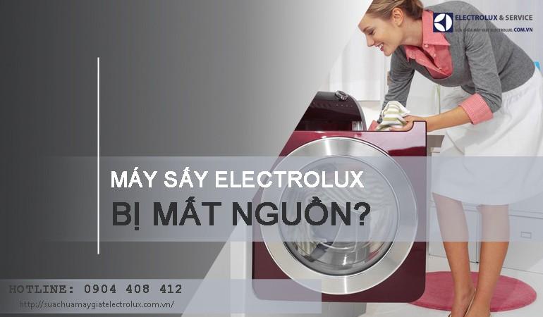 Mách bạn cách sửa máy sấy Electrolux bị mất nguồn từ A - Z