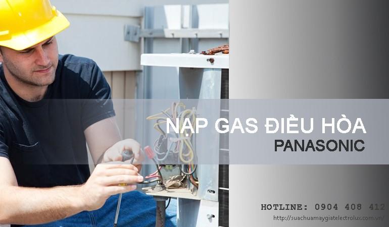 Nạp gas điều hòa Panasonic