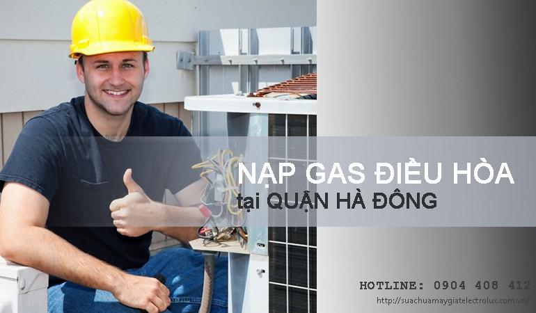 Nạp gas điều hòa tại Hà Đông