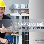 Nạp gas điều hòa tại Long Biên chỉ 30p là thợ có mặt | Sale 25%