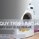 Quy trình bảo hành máy giặt Electrolux tại nhà | Electrolux