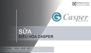 Sửa điều hòa Casper tại Hà Nội