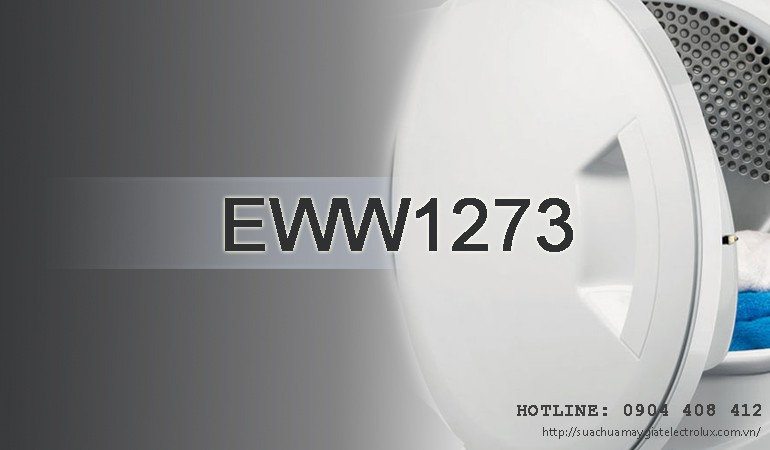 Sửa máy giặt Electrolux EWW1273 giặt sấy 7kg chính hãng
