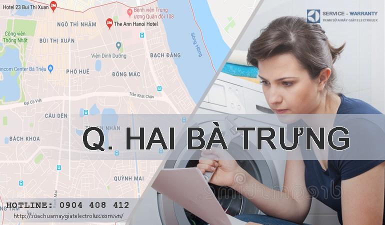 Sửa máy giặt Electrolux tại Hai Bà Trưng, Hà Nội | Giá rẻ