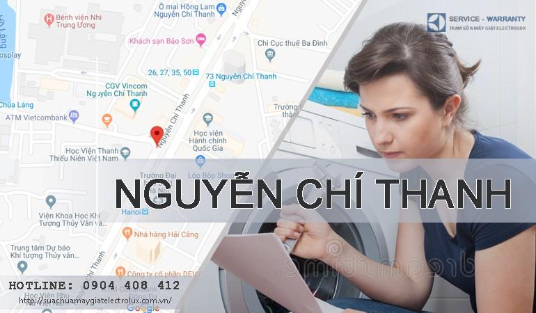 Sửa máy giặt Electrolux tại Nguyễn Chí Thanh, bảo hành 12 tháng