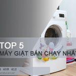 TOP #5 máy giặt bán chạy nhất thị trường hiện nay
