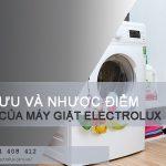 Ưu và nhược điểm của máy giặt Electrolux so với máy giặt LG