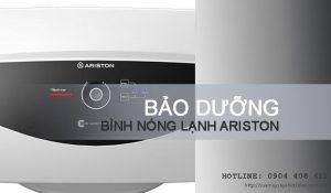 Bảo dưỡng bình nóng lạnh Ariston giá SIÊU RẺ | Tiết kiệm 10%