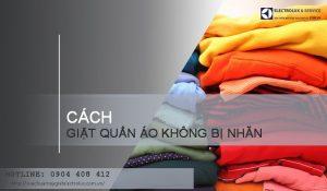5 cách giặt quần áo không bị nhăn bằng máy giặt hiệu quả 99%