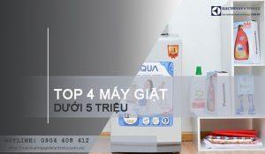 TOP #4 máy giặt dưới 5 triệu tốt nhất mà bạn không nên bỏ qua