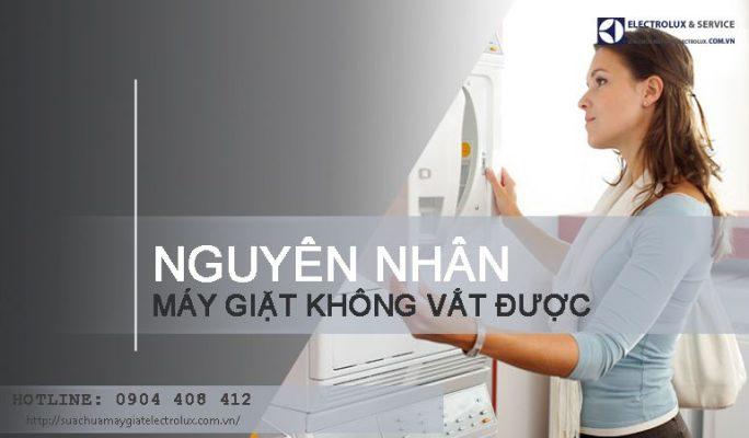 5 nguyên nhân máy giặt không vắt được và cách khắc phục