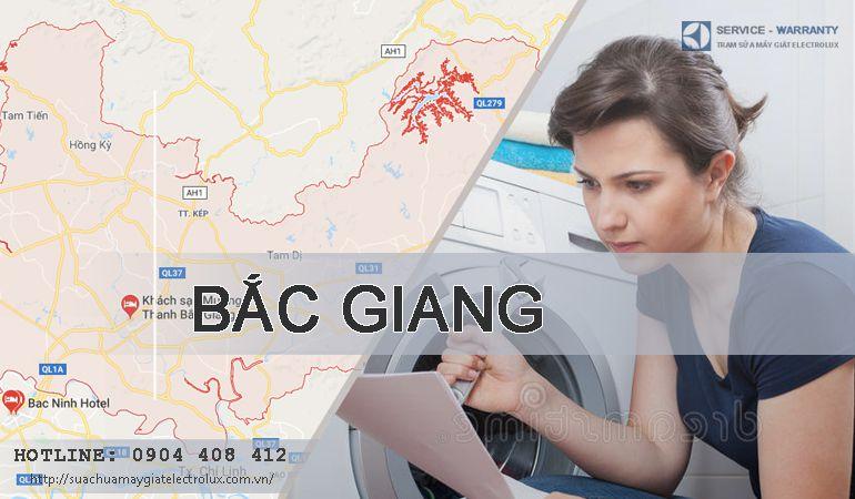 Sửa máy giặt Electrolux tại Bắc Giang ở đây HÀI LÒNG 100%