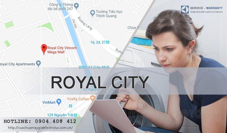 Sửa máy giặt Electrolux tại Royal City có mặt sau 30 phút