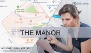Sửa máy giặt Electrolux tại The Manor cho 90% khách hàng tại đây