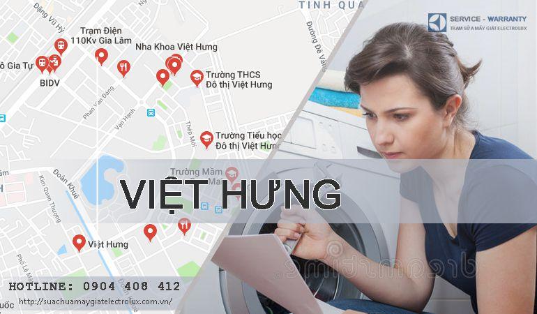 Sửa máy giặt Electrolux tại Việt Hưng, 100% đều hài lòng