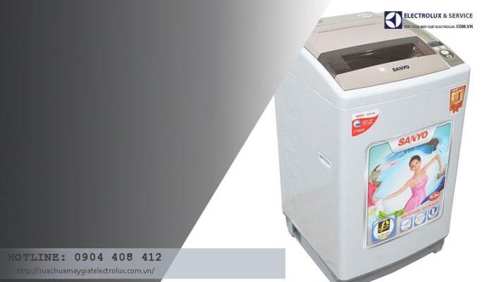 3 nguyên nhân máy giặt Sanyo báo lỗi EA và cách khắc phục