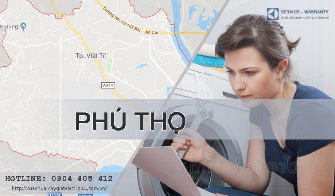 Sửa máy giặt Electrolux tại Phú Thọ, cam kết 100% thợ hãng